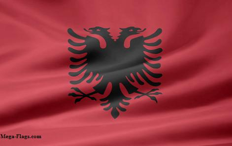 Photo of the Albania Flag