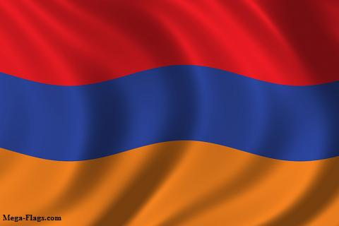 The Flag of Armenia