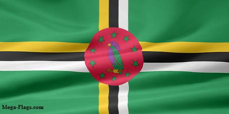 Dominican Flag, Dominica Flag