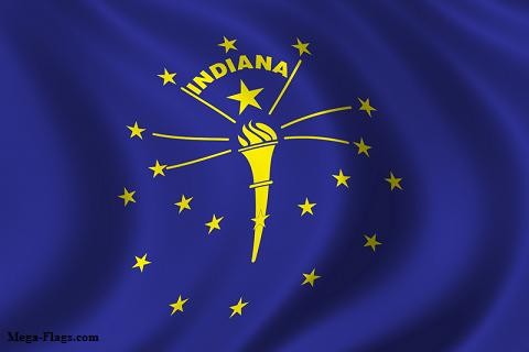 State Flag of Indiana - indianaflag
