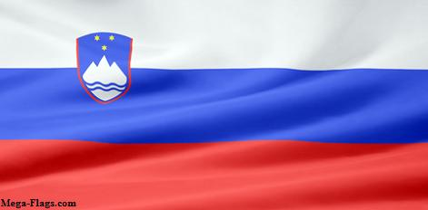 Picture of Slovenia's flag