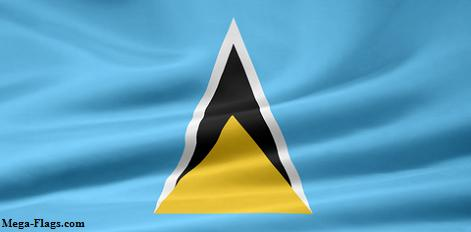 Flag of St. Lucia, Saint Lucia Flag